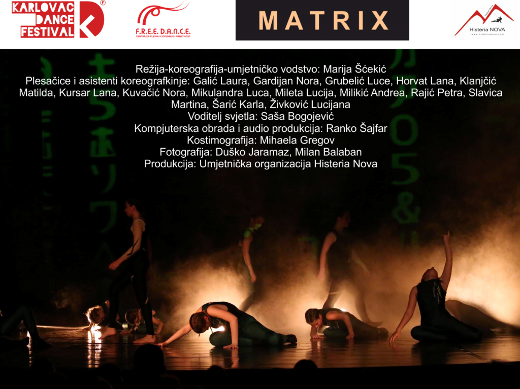 MATRIX_u Zorin domu, 16. travnja 2019. u 18:00 h