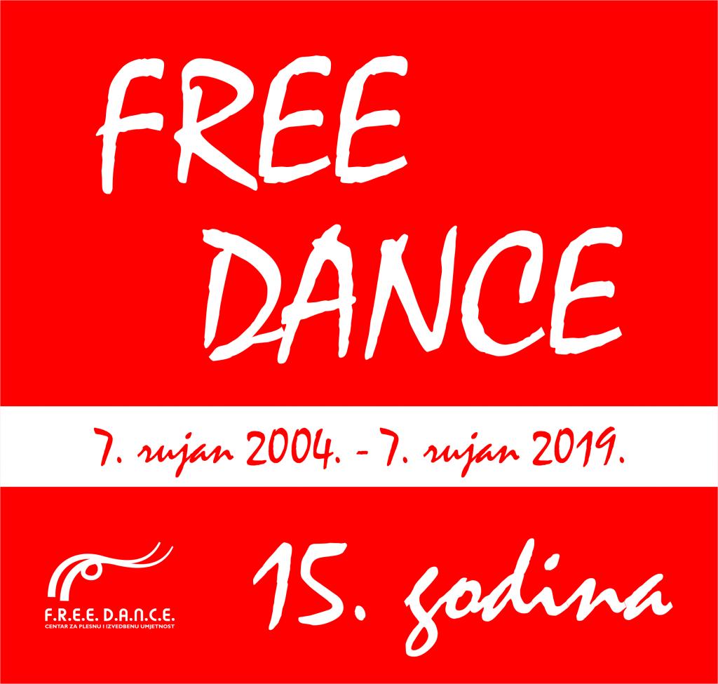 15 godina Centra za plesnu i izvedbenu umjetnost F.R.E.E. D.A.N.C.E. Karlovac - najava događanja